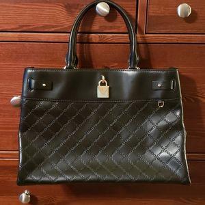 Michael Kors Gramercy Black Leather Bag NWOT